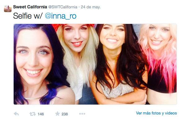 Sweet California en Primavera Pop 2014