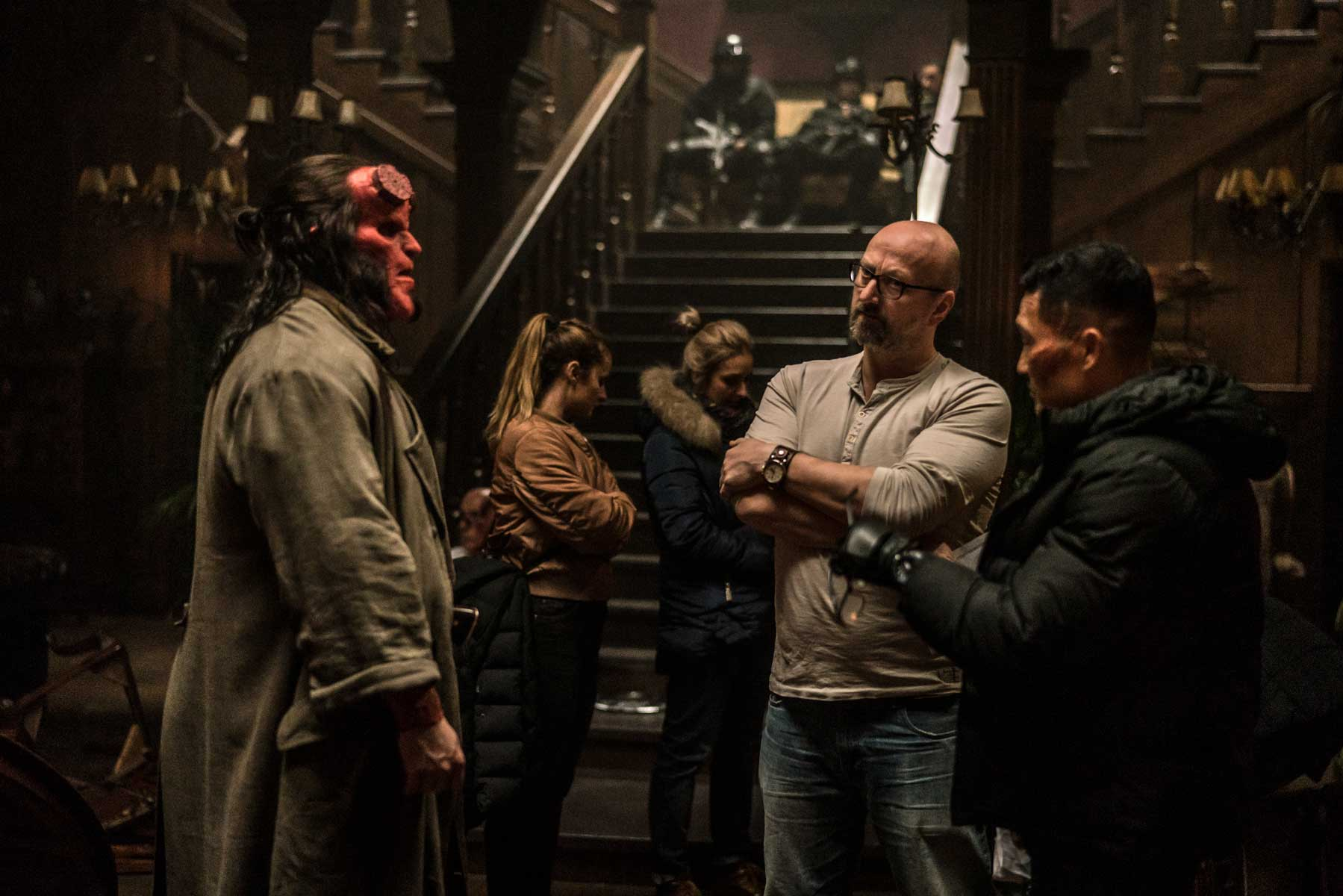 David Harbour Hellboy Rodaje