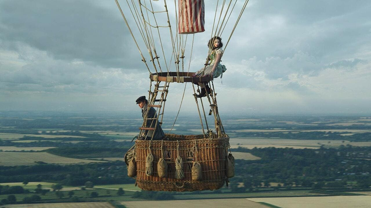Escena de The Aeronauts de Amazon Prime