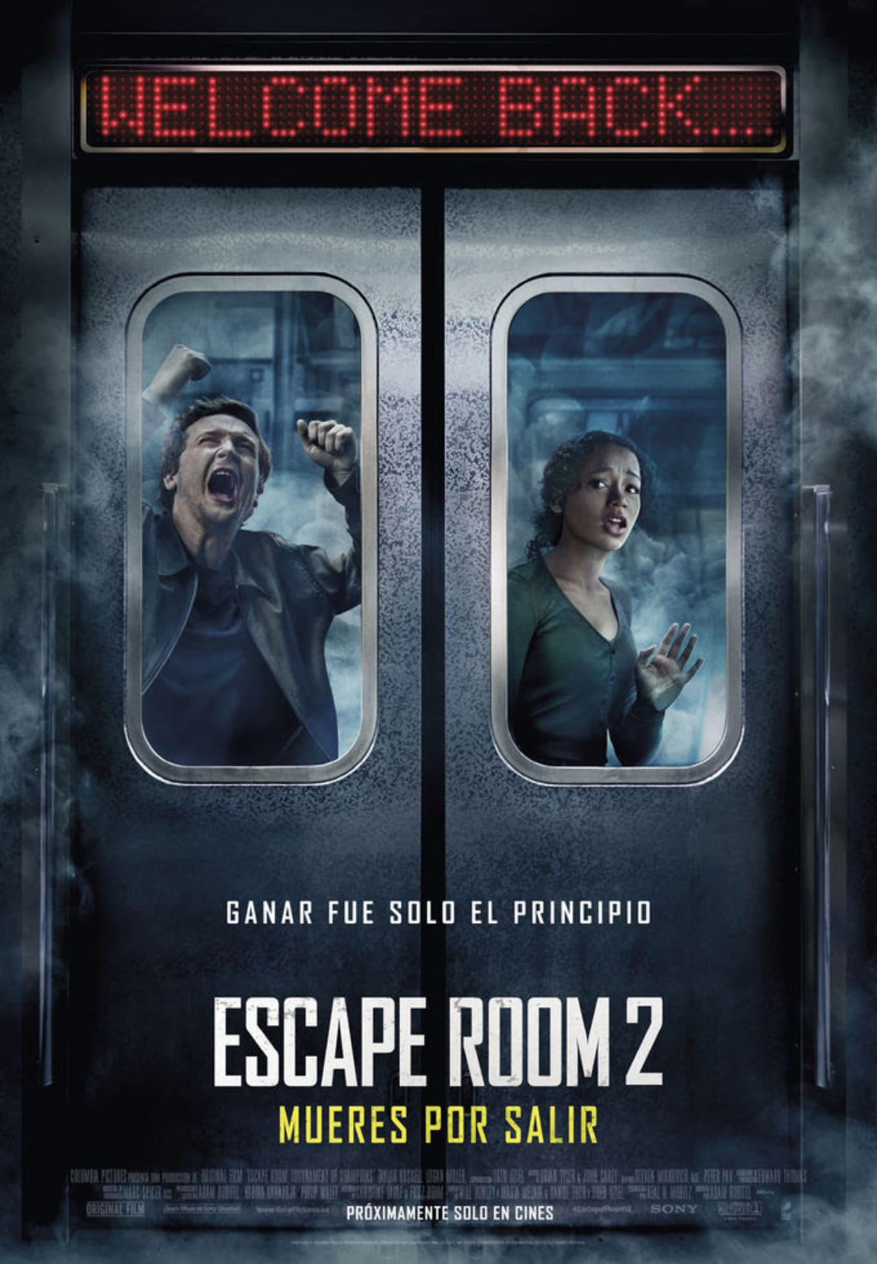 Movie poster Escape Room 2 You die to get out